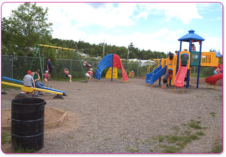 Riverland Campground and R.V. Park Playground